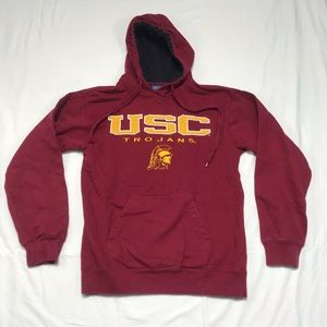 Tops - USC hooded sweatshirt flaws size small